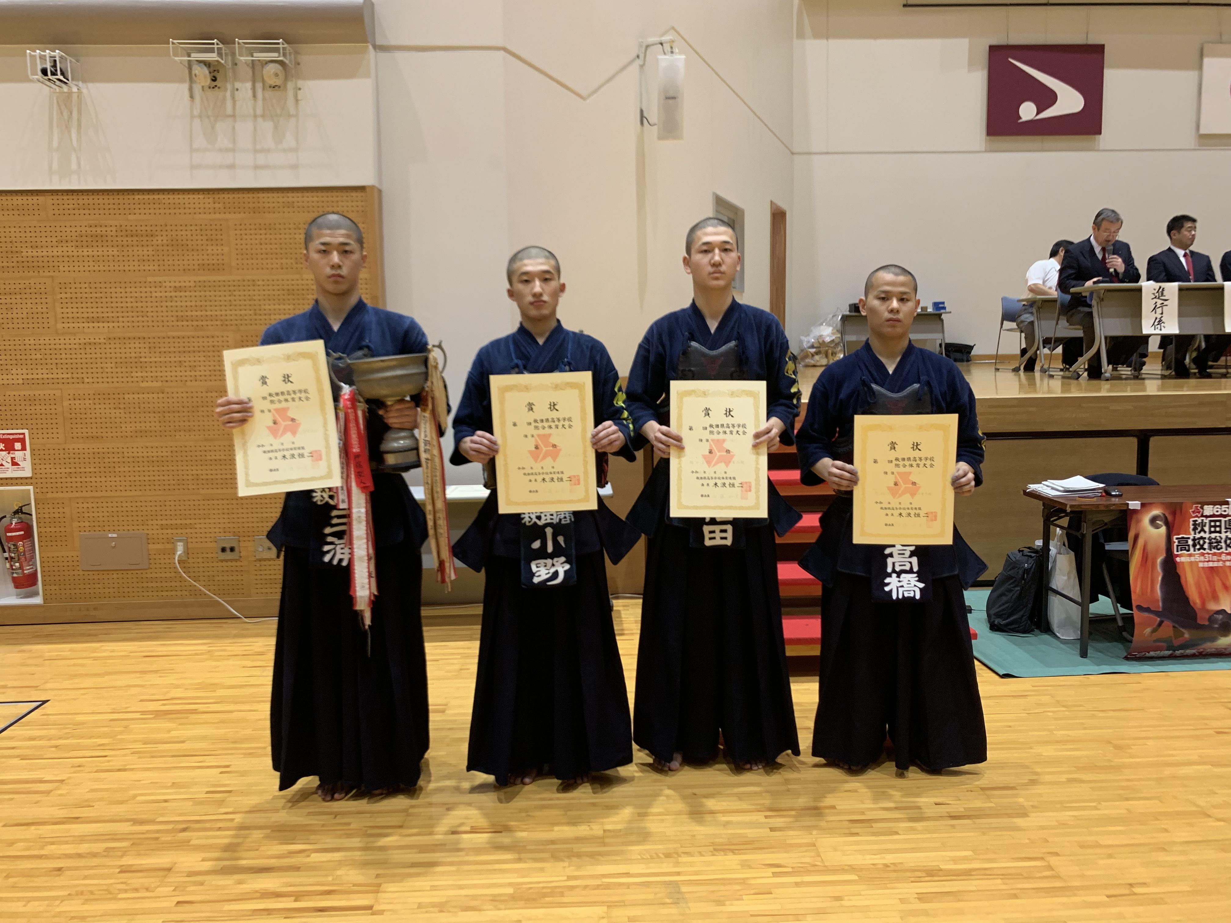 インターハイ 2019 剣道 高校